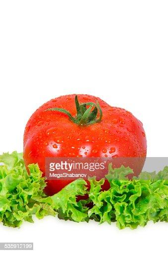 Vermelho Tomate : Foto de stock