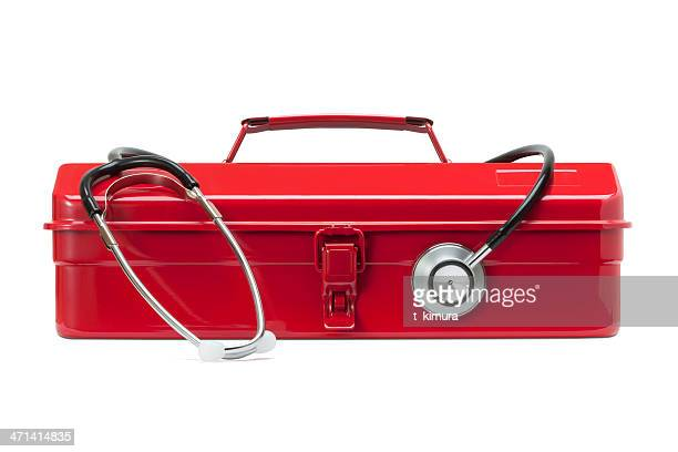 Red Toolbox and Stethoscope