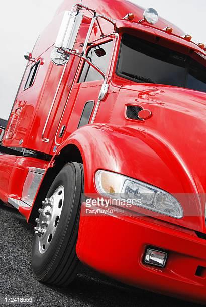 Rote LKW