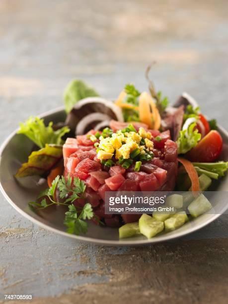 Red tuna tartare