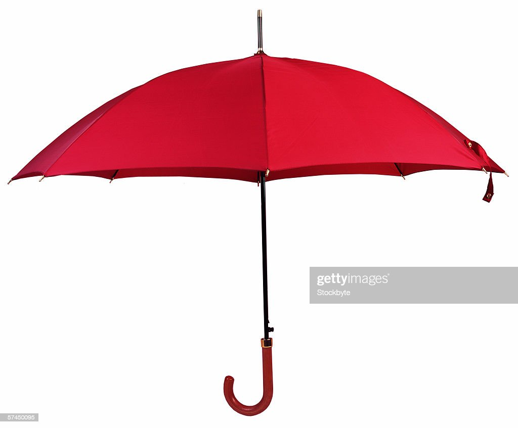 red umbrella : Stock Photo