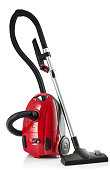 New Vacuum Cleaner isolated on a white background