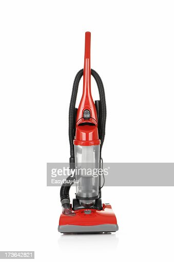 Red vacuum cleaner used to improve your cleaning experience