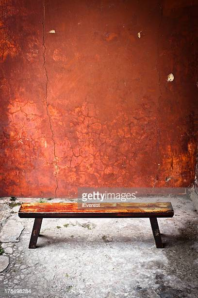 Red Wall and Seat