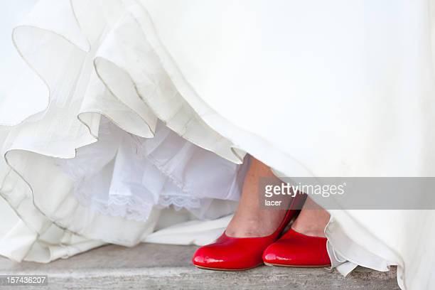 Red Hochzeit Schuhe