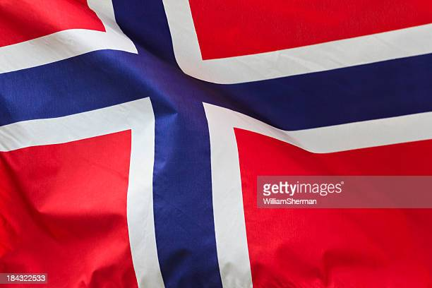 Red, White and Blue Flag of Norway