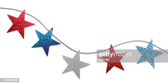 Red White And Blue Stars Stock Photo | Getty Images
