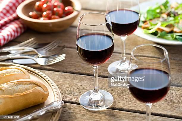 Red Wine Alfresco