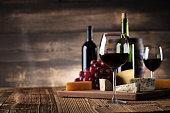 wine rustic background