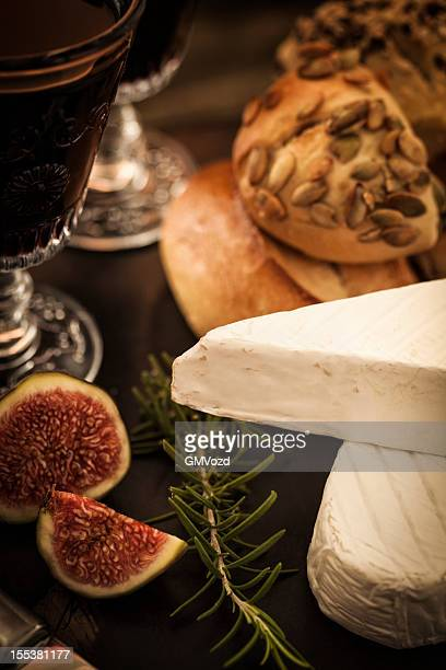 Red Wine and French Cheese