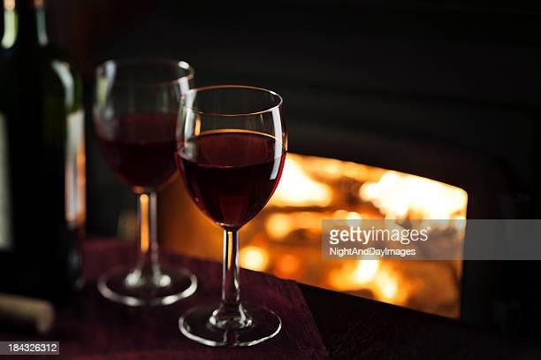 Vinho Tinto ao fogo