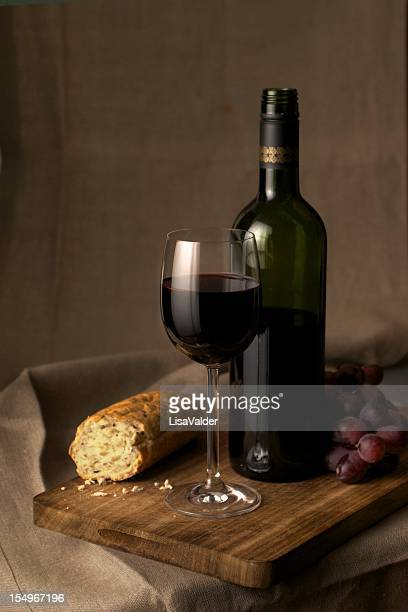 Red Wine Stillife