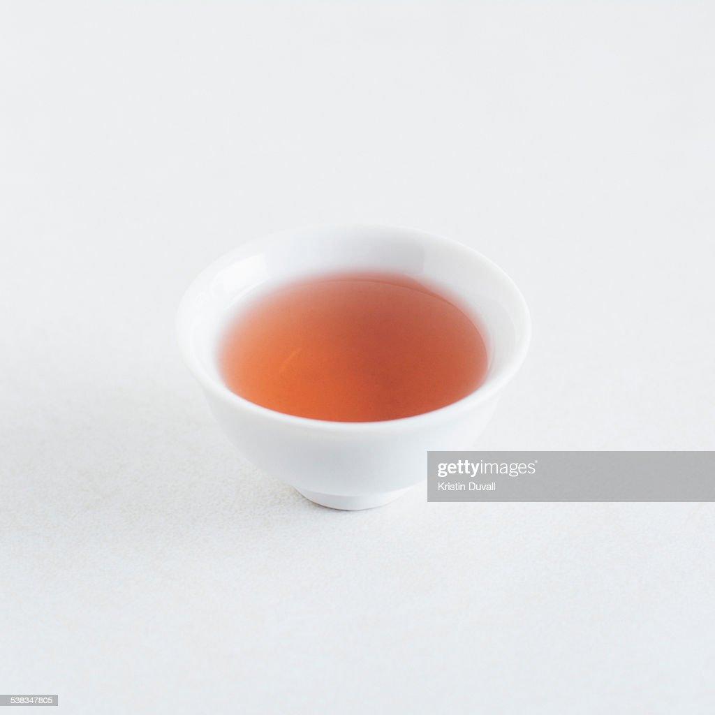 Red wine vinegar in bowl
