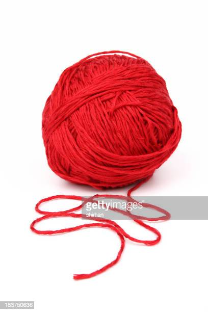Red wool.