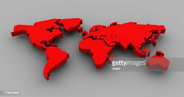3D Red World