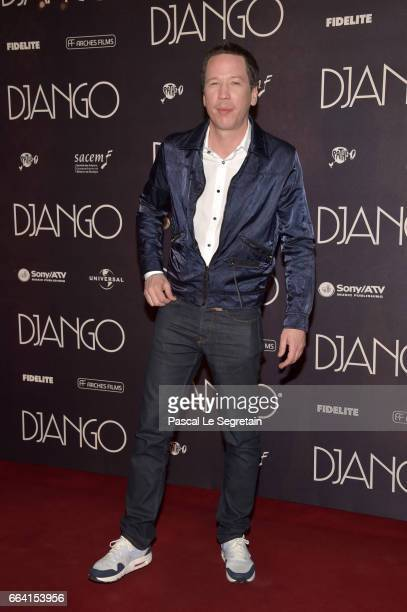 Reda Kateb attends 'Django' Premiere at Le Grand Rex on April 3 2017 in Paris France