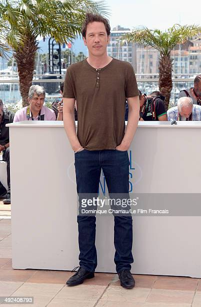 Reda Kateb attends the 'Lost River' photocall during the 67th Annual Cannes Film Festival on May 20 2014 in Cannes France