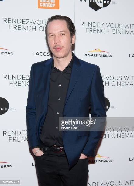 Reda Kateb attends the opening night premiere of 'Django' at The Film Society of Lincoln Center Walter Reade Theatre on March 1 2017 in New York City