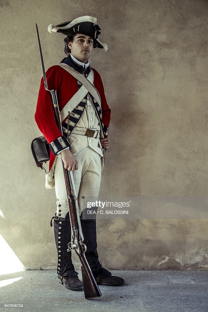 Redcoat, American Revolutionary War, reenactment Pictures | Getty ...