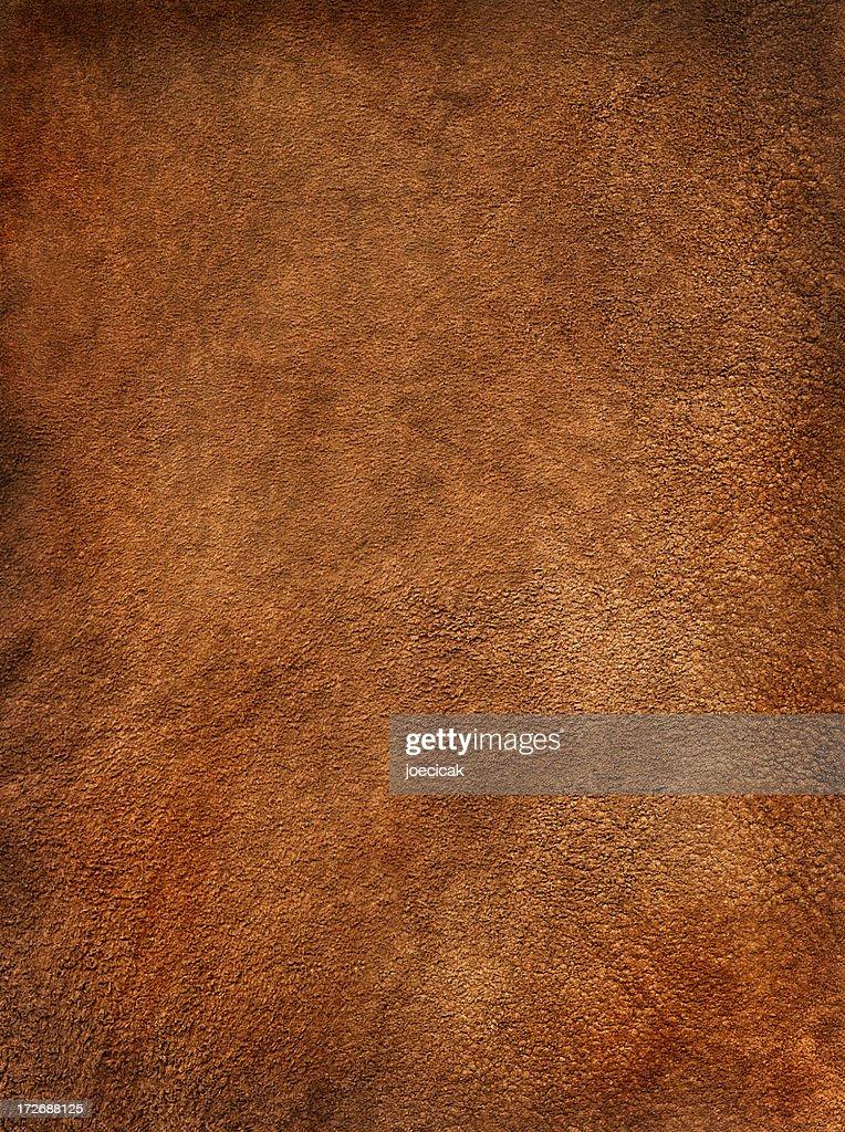 Reddish Brown Suede