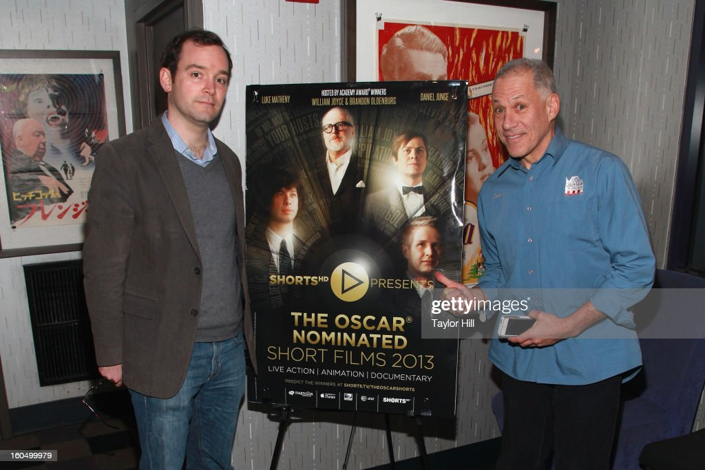 'Redemption' co-directors Matt O'Neill and Jon Alpert attend the NYC Theatrical Opening of Oscar Nominated Short Films at IFC Center on February 1, 2013 in New York City.