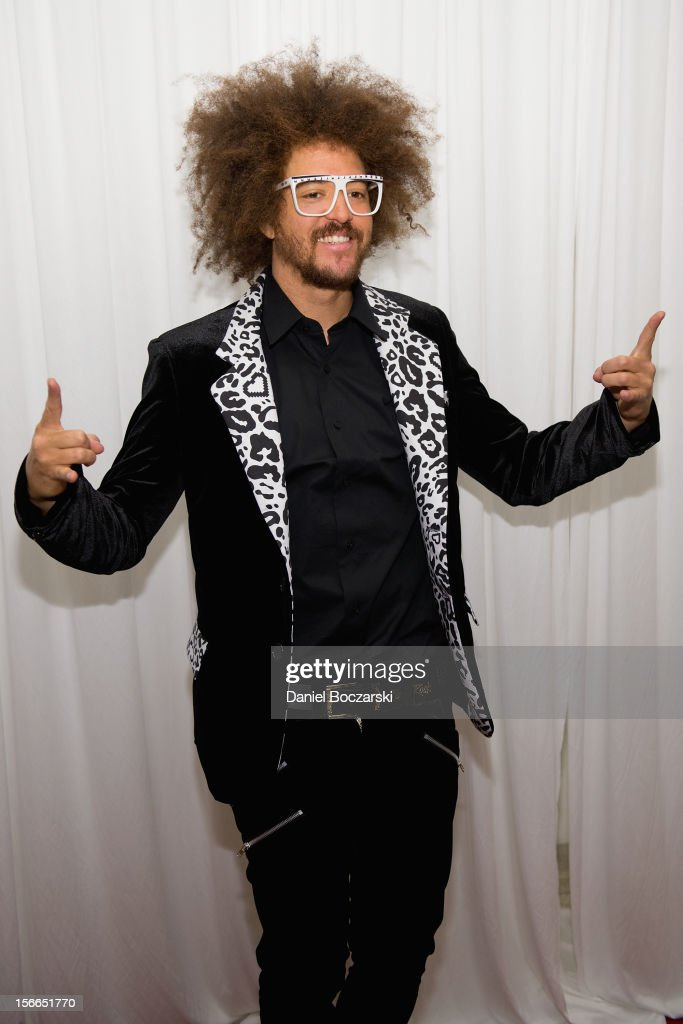 Redfoo aka Redfoo of LMFAO attends An Evening with Berry Gordy at the Art Institute Of Chicago on November 17, 2012 in Chicago, Illinois.