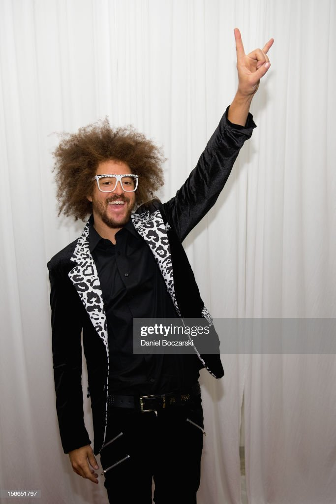 <a gi-track='captionPersonalityLinkClicked' href=/galleries/search?phrase=Redfoo&family=editorial&specificpeople=5857552 ng-click='$event.stopPropagation()'>Redfoo</a> aka <a gi-track='captionPersonalityLinkClicked' href=/galleries/search?phrase=Redfoo&family=editorial&specificpeople=5857552 ng-click='$event.stopPropagation()'>Redfoo</a> of LMFAO attends An Evening with Berry Gordy at the Art Institute Of Chicago on November 17, 2012 in Chicago, Illinois.