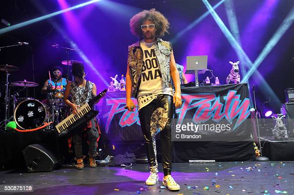 Redfoo and The Party Rock Crew perform on stage at KOKO on May 11 2016 in London England