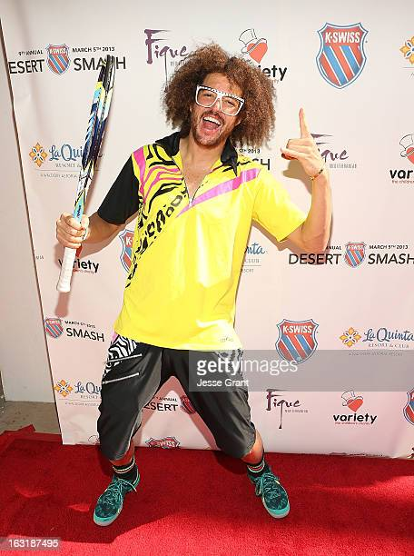 Redfoo attends The 9th Annual KSwiss Desert Smash Charity Tennis Event Benefiting Variety The Children's Charity of The Desert at La Quinta Resort...