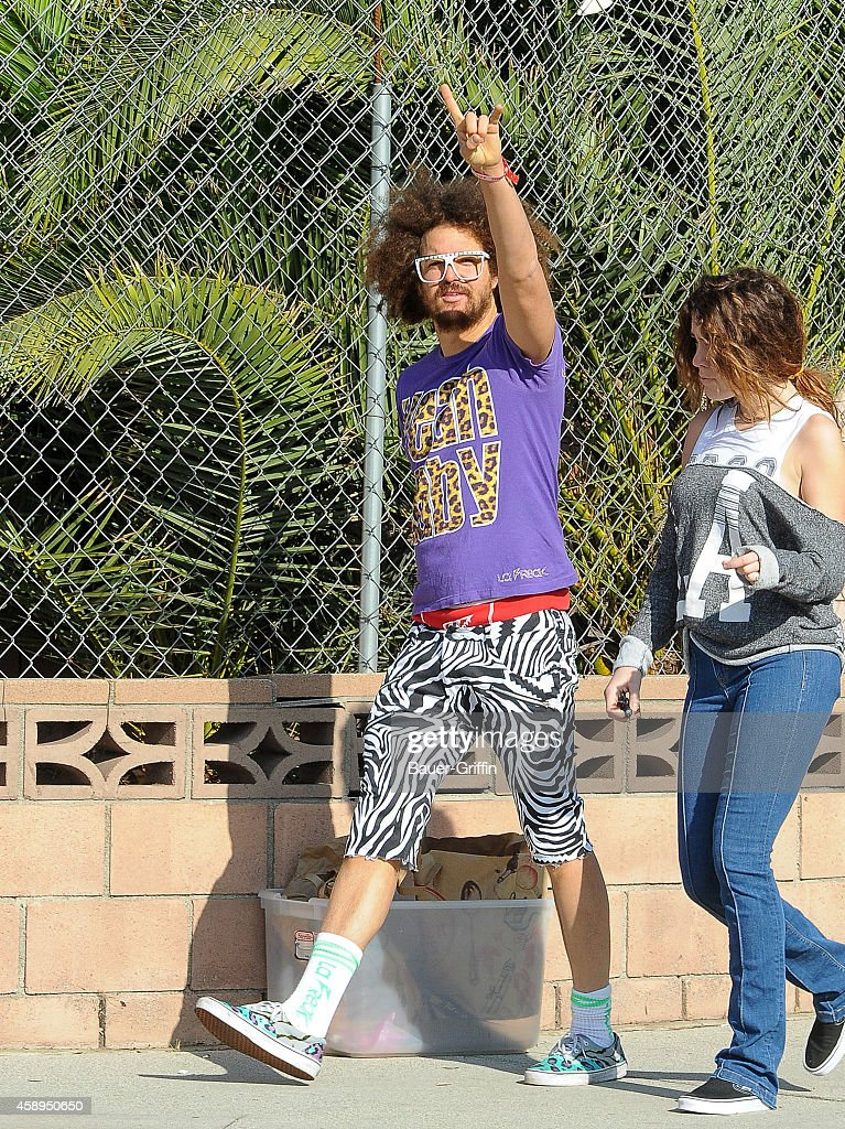 Redfoo is seen in Hollywood on November 13 2014 in Los Angeles California