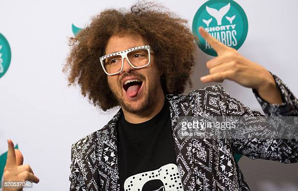 Redfoo of LMFAO attends the 8th Annual Shorty Awards at The New York Times Center on April 11 2016 in New York City