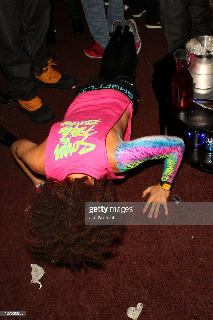 <a gi-track='captionPersonalityLinkClicked' href=/galleries/search?phrase=Redfoo&family=editorial&specificpeople=5857552 ng-click='$event.stopPropagation()'>Redfoo</a> of LMFAO performs at the T-Mobile Presents Google Music at TAO, a nightlife event at the 2012 Sundance Film Festival on January 21, 2012 in Park City, Utah.