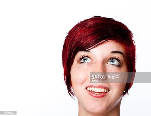 redhead fille la recherche