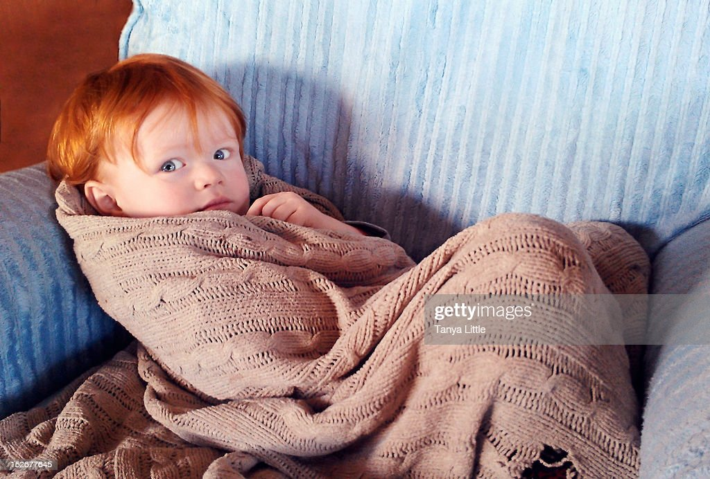 Redheaded toddler : Stock Photo