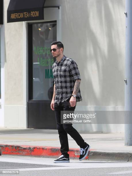 J J Redick is seen on April 06 2017 in Los Angeles California