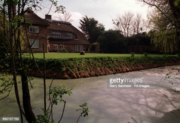 Redlands West Wittering West Sussex The moated half timbered country mansion once own by Keith Richards of the Rolling Stones * It was during an acid...
