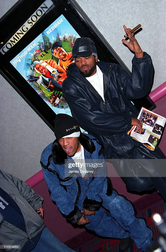 RedMan and Method Man during 'How High' New York Premiere at UA Union Square Theater in New York New York United States