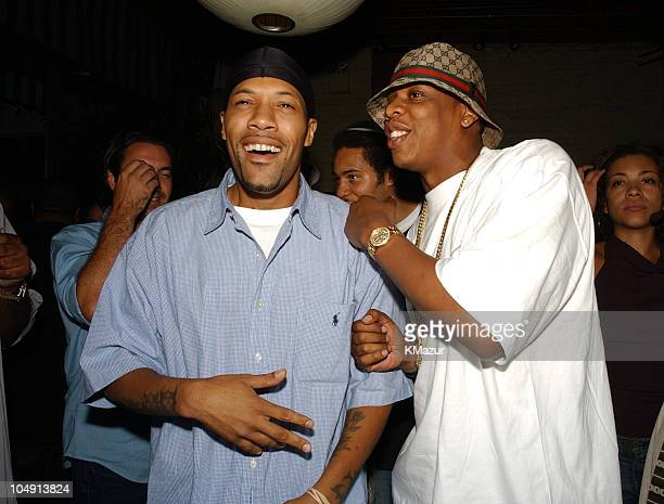 Redman JayZ during Def Jam Party Lyor Cohen and Russell Simmons Reunite with Def Jam's Original CoFounder Rick Rubin at B Bar in New York City New...