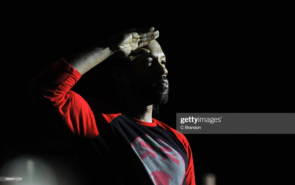 Redman performs on stage during the Superstars Of Hip Hop concert at Eventim Apollo, Hammersmith on November 2, 2013 in London, United Kingdom.