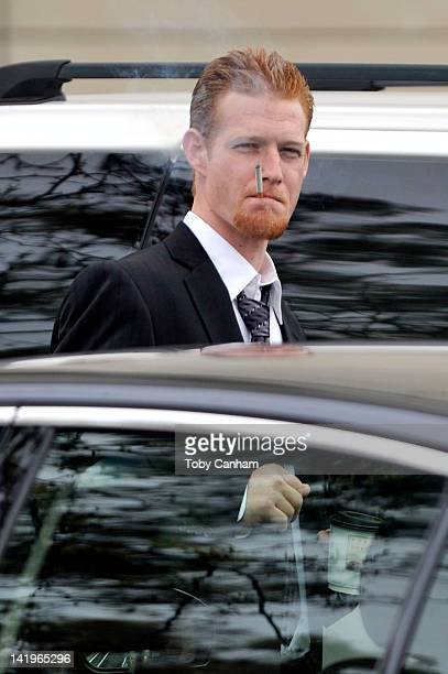 Redmond O'Neal leaves court after a successful progress report on March 27 2012 in Los Angeles California Judge Keith Schwartz commended O'Neal for...