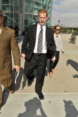 Redmond O'Neal leaves court after his final progress report at LAX Courthouse on October 9 2012 in Los Angeles California O'Neal will be placed on...