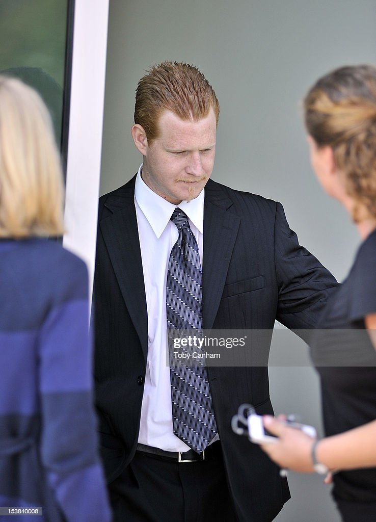 Redmond O'Neal leaves court after his final progress report at LAX Courthouse on October 9, 2012 in Los Angeles, California. O'Neal will be placed on probation for drug related charges. If O'Neal violates the terms of his probation he could face a six-year jail sentence.