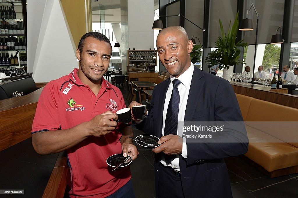 Queensland Reds Visit GG Espresso