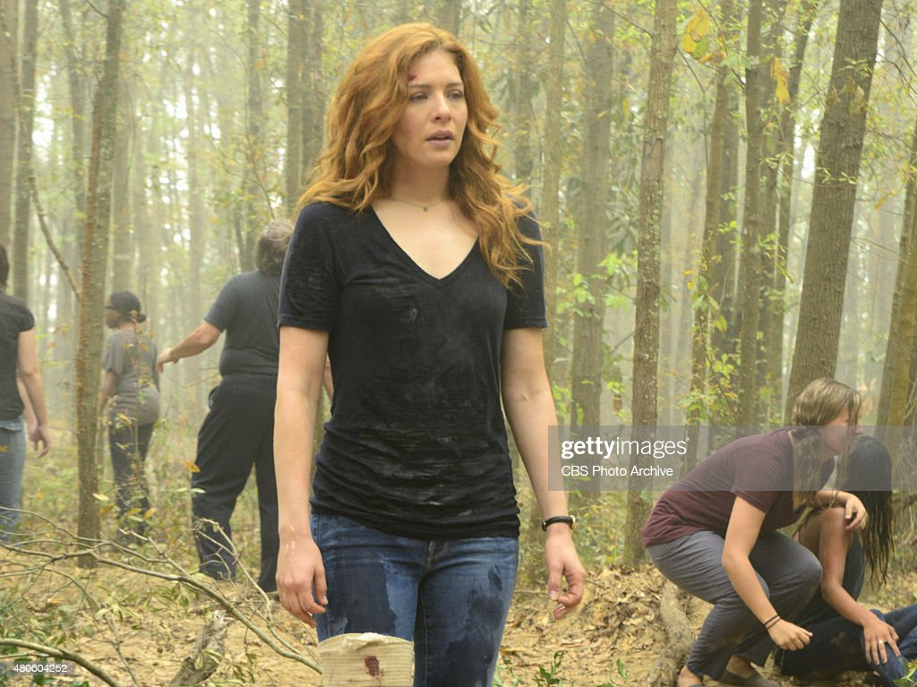 'Redux' -- Julia (Rachelle Lefevre) tries to find common ground with the rest of the townspeople after being separated them while they had a collective experience in the tunnels underneath Chester's Mill on, UNDER THE DOME, Thursday, July 2 (10:00-11:00 PM ET/PT), on the CBS Television Network.