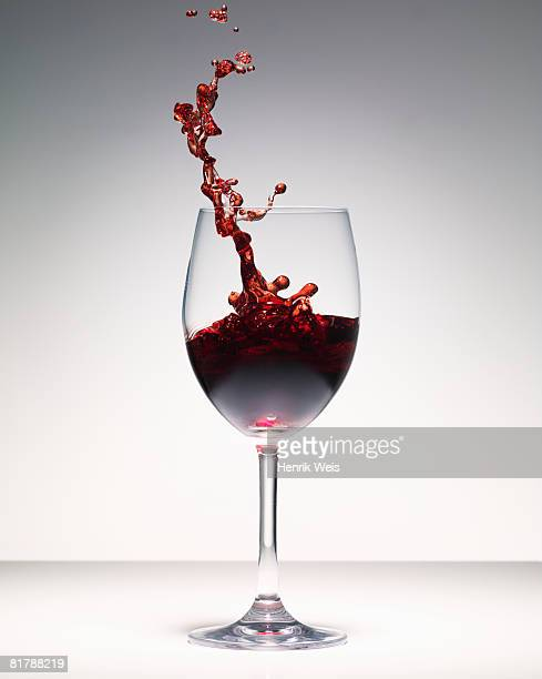 Redwine splash