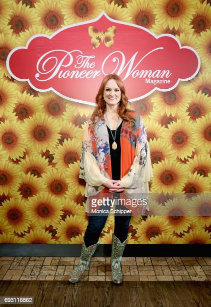 Ree Drummond attends The Pioneer Woman Magazine Celebration with Ree Drummond at The Mason Jar on June 6 2017 in New York City