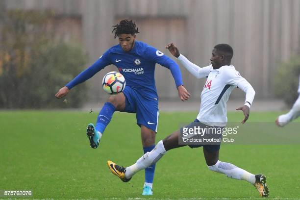 Reece James of Chelsea during the Premier league 2 match between Tottenham Hotspur and Chelsea on November 18 2017 in Enfield England