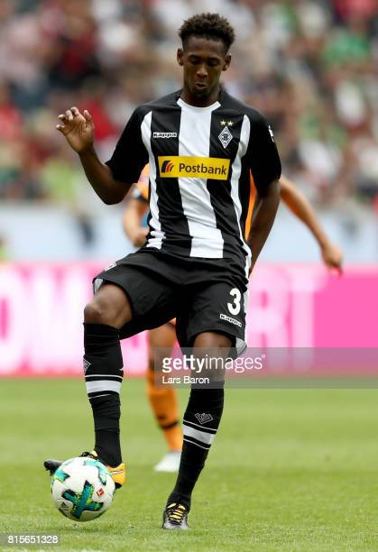 Reece Oxford of Moenchengladbach is seen during the Telekom Cup 2017 3rd place match between Borussia Moenchengladbach and TSG Hoffenheim at Borussia...