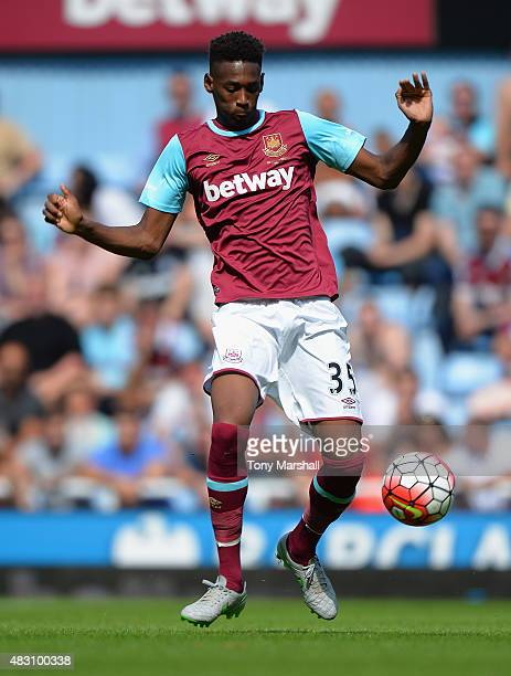 Reece Oxford of West Ham United during the Betway Cup between West Ham Utd and SV Werder Bremen at Boleyn Ground on August 2 2015 in London England