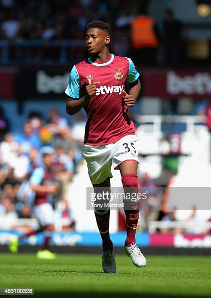 Reece Oxford of West Ham United during the Betway Cup match between West Ham Utd and SV Werder Bremen at Boleyn Ground on August 2 2015 in London...